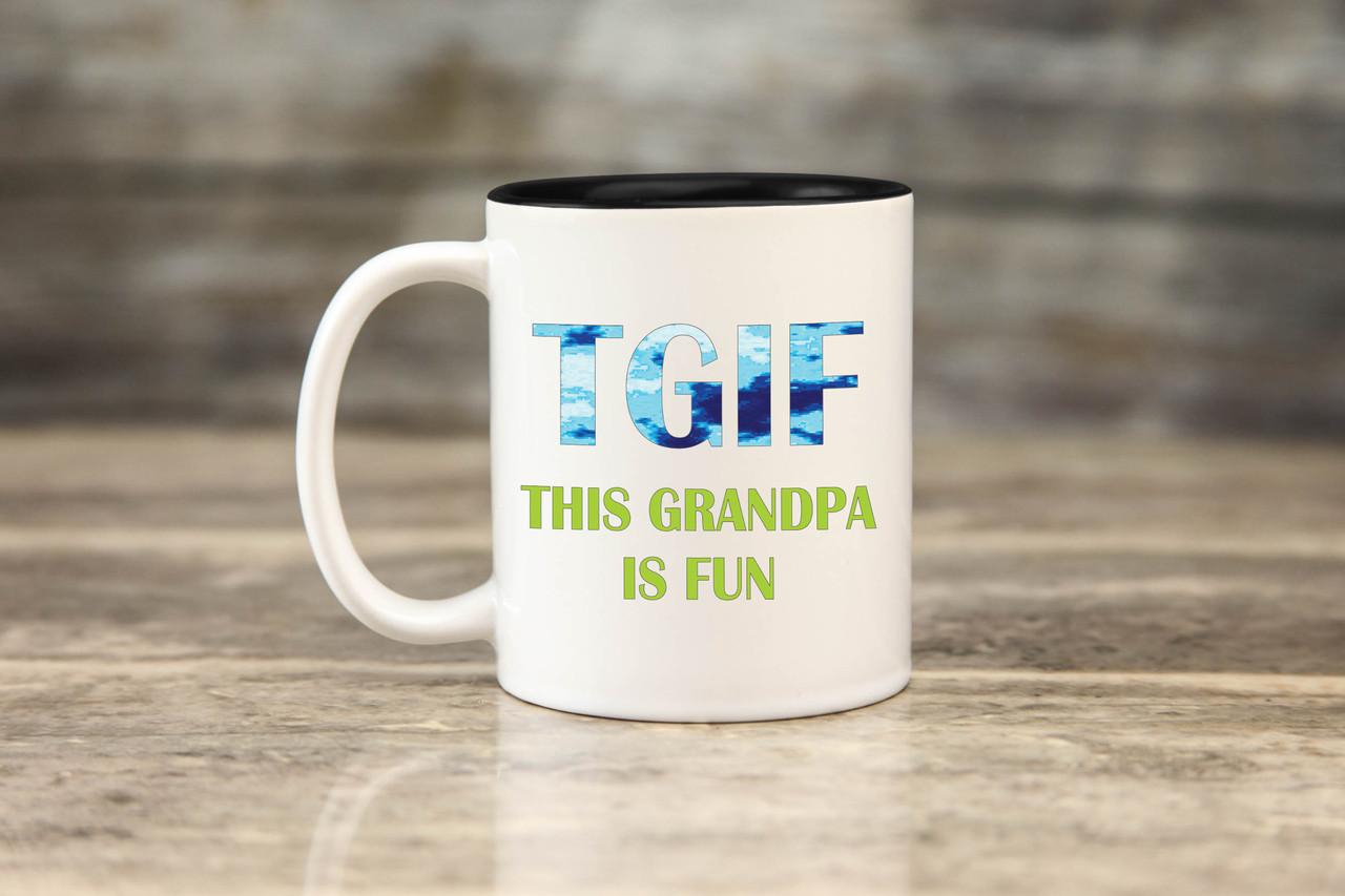 Mug - TGIF Grandpa