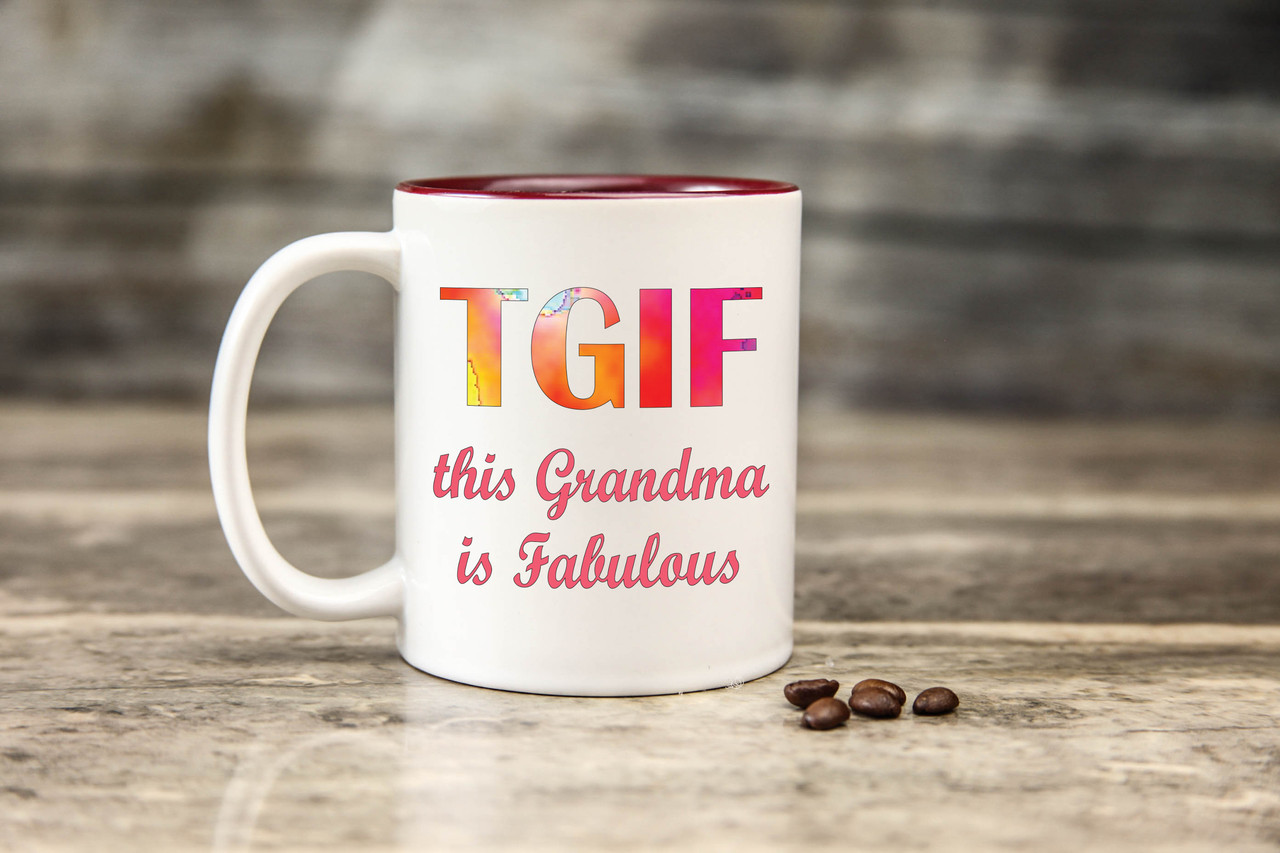Mug - TGIF Grandma