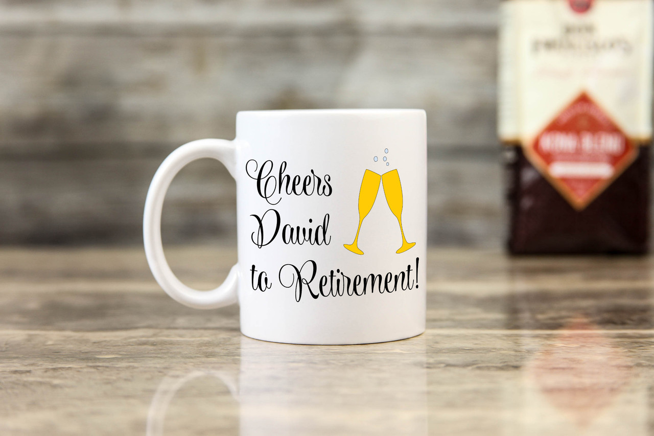 Personalized Mug - Cheers to Retirement