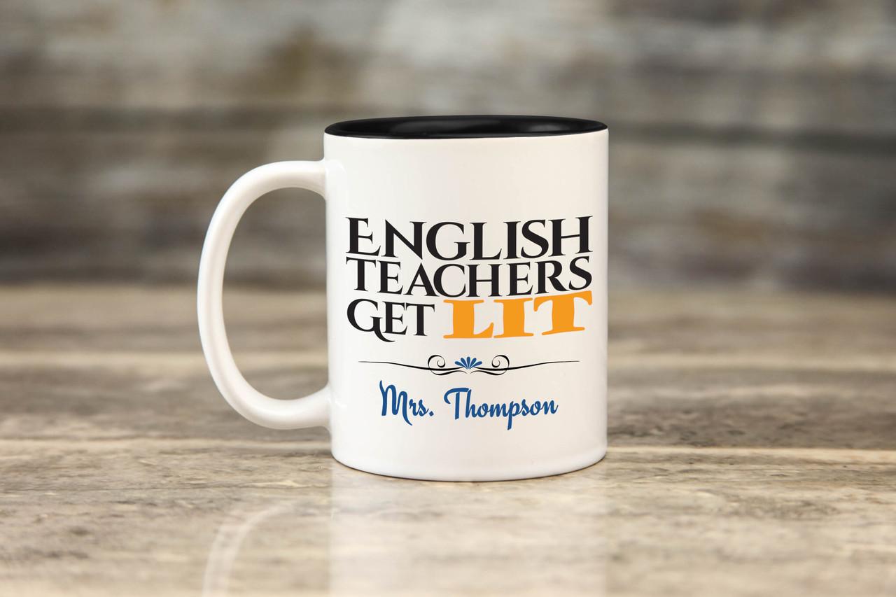 Personalized Mug - English Teachers
