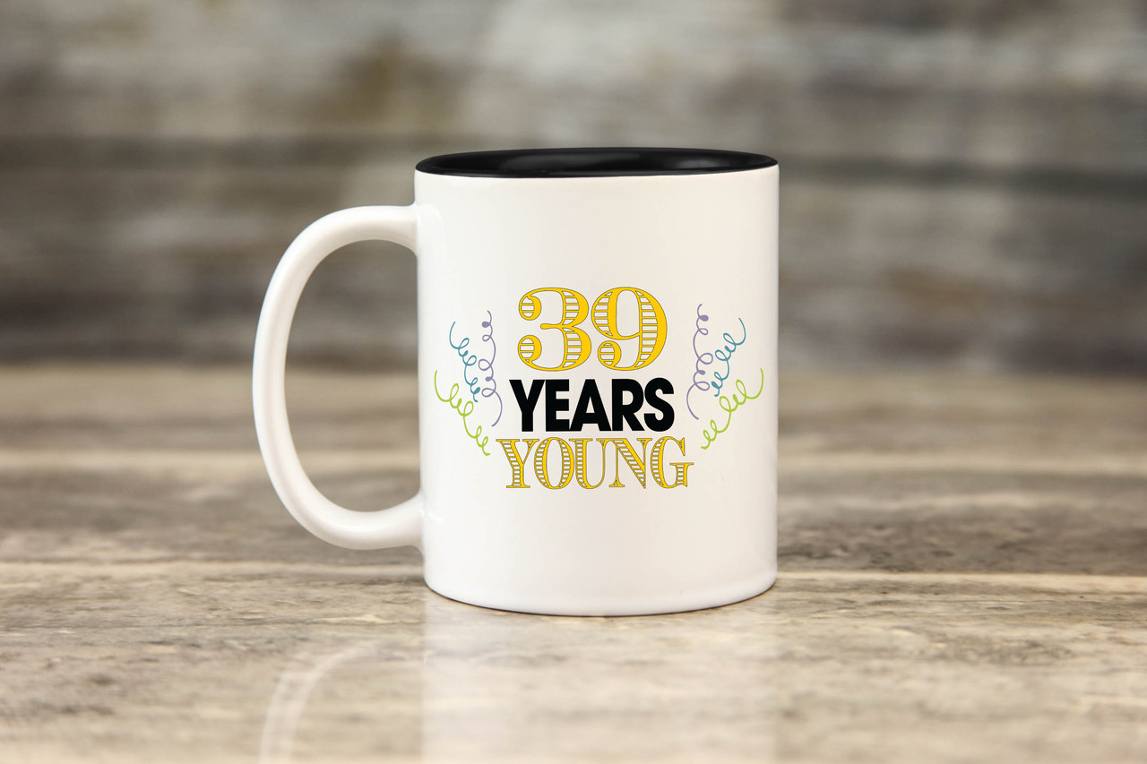 Personalized Mug - Years Young