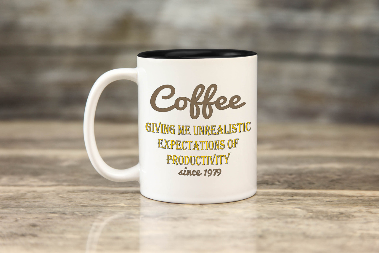 Personalized Mug - Unrealistic Expectations