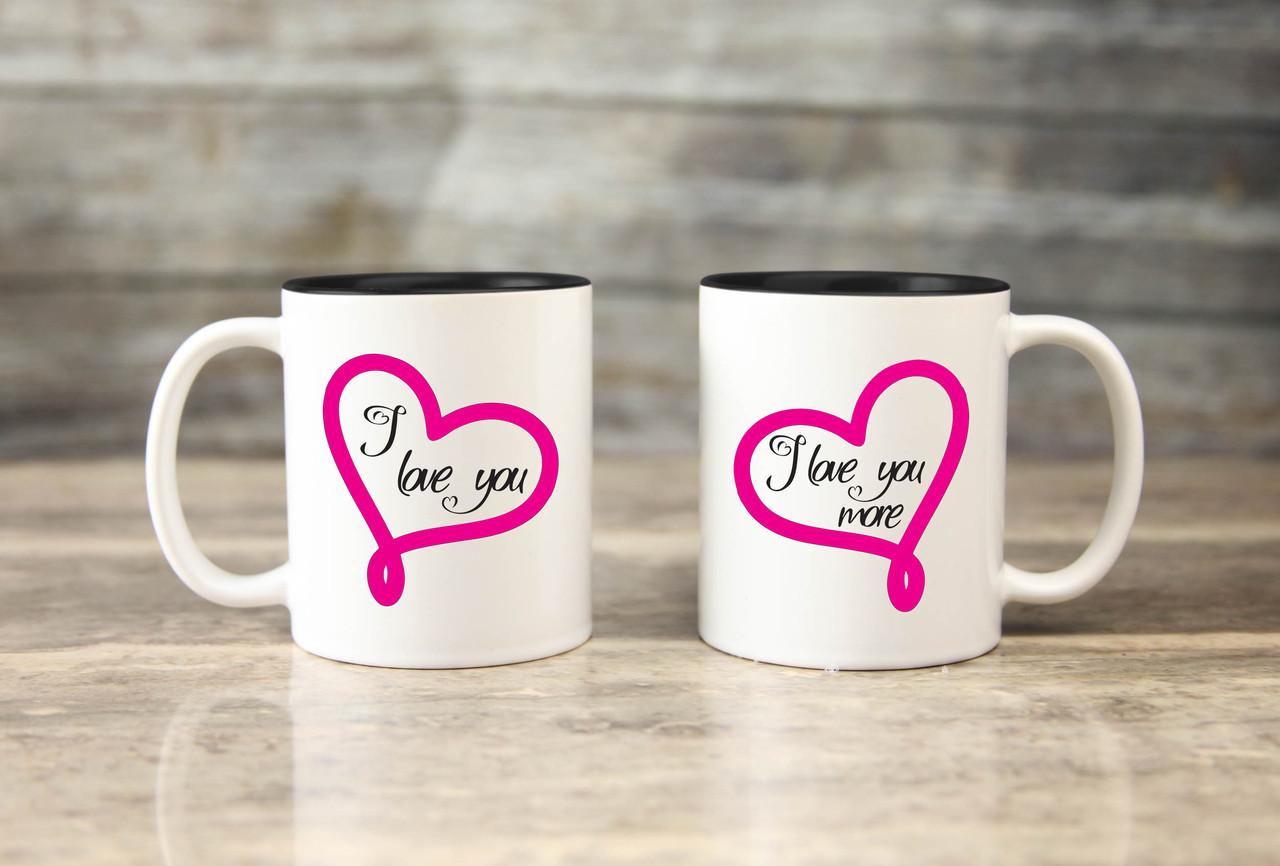 Mug Set - I Love You More