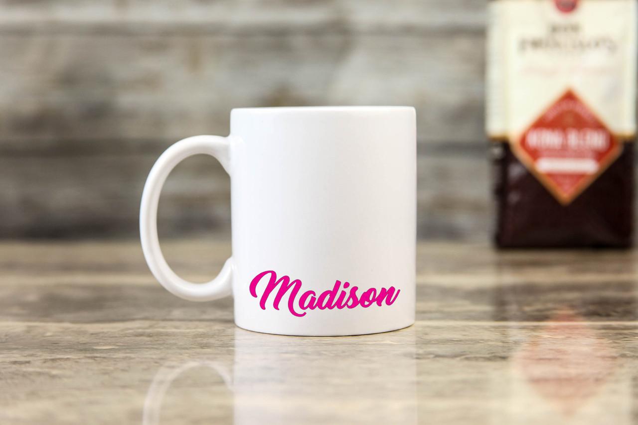 Personalized Mug - Pink Name