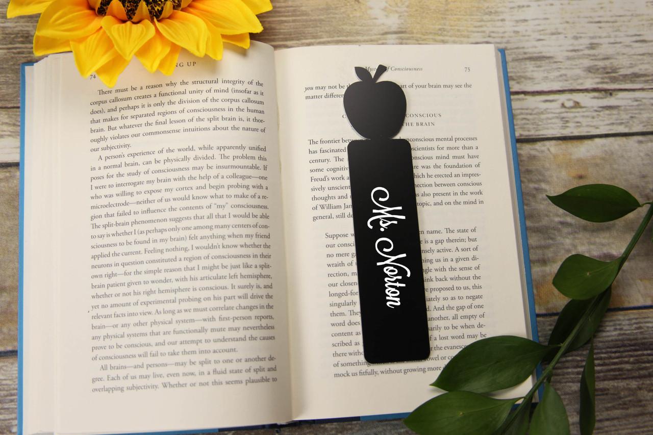 Personalized Bookmark - Apple 'Lavanderia'