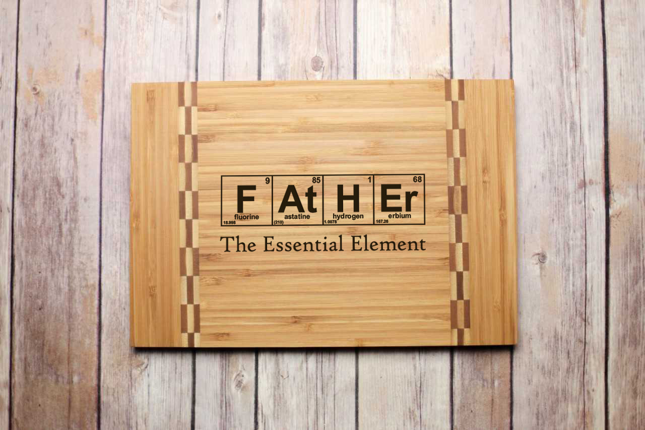 Inlay Engraved Cutting Board - Father Chemistry