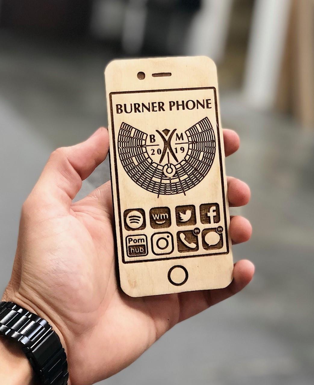 The Burner Phone