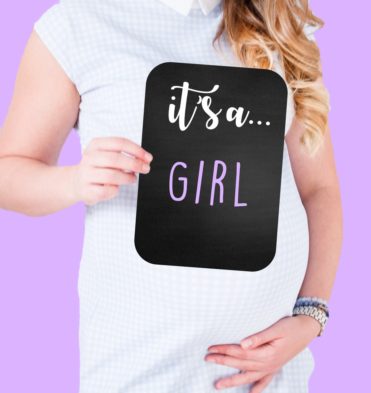 Chalkboard Sign - Its A Boy/Girl