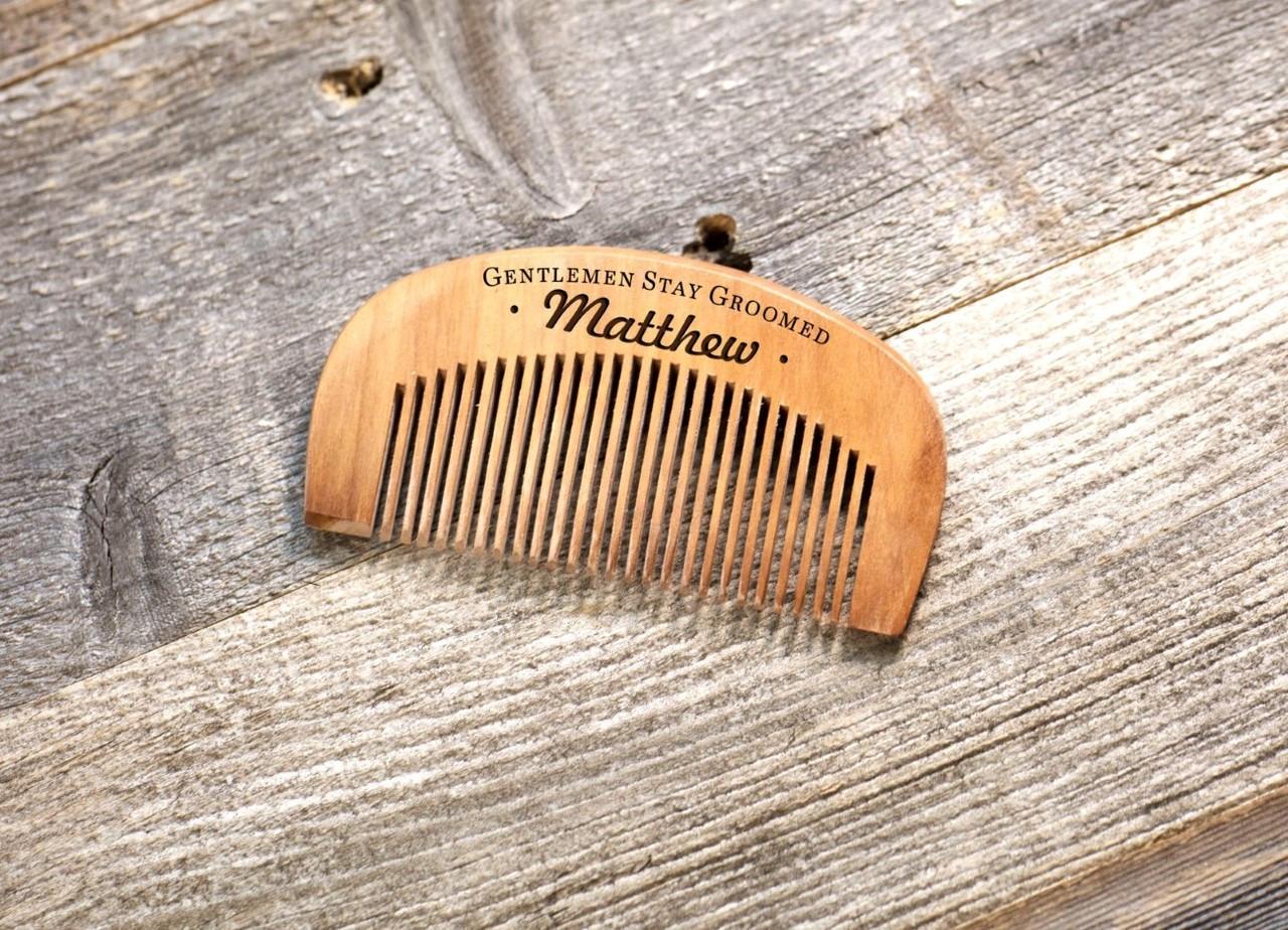 Personalized Comb - Stay Groomed Gentlemen