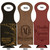 Leather Bottle Tote Bag - Keep Your Friends Close