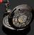Engraved Men Vintage Mechanical Pocket Watch W#7
