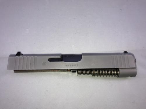 G48 / 9mm Slide Complete AmeriGlo Night Sights Silver