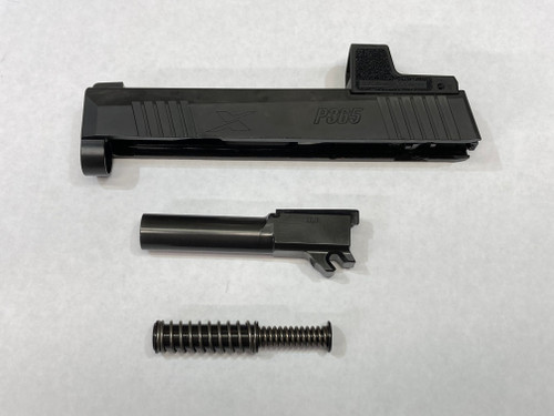 Complete Factory Sig P365 X Romeo 9mm Slide