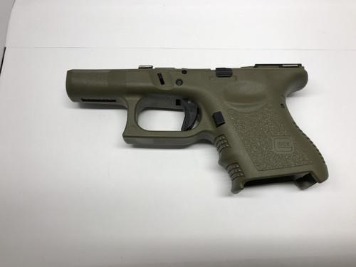 G26 / 9mm Gen 3 Complete Frame / Lower OD Green