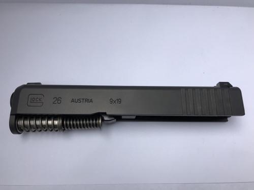 Glock 26 Gen 3 Complete slide Night Sights