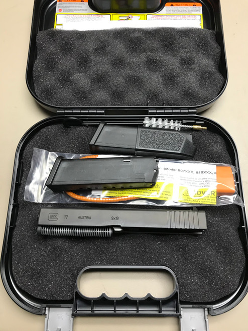 G17 / 9mm Gen 3 Complete Slide Kit Box, and Mags
