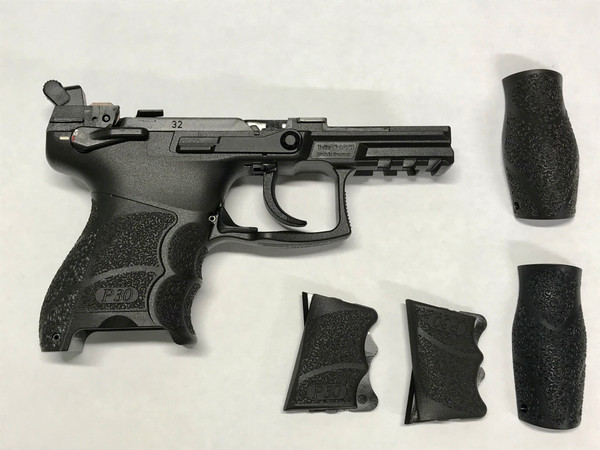 HK P30SK 9mm V3 DA/SA Ambi Complete Frame