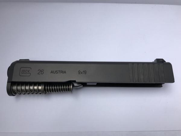 G26  / 9mm Gen 3 Complete slide Night Sights