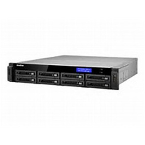 24CH, 2U RACK NVR, 24TB MAX 3.3GHZ INTEL CORE I3 PROCESSOR 8X HDD BAY, 4GB RAM, 400MBPS