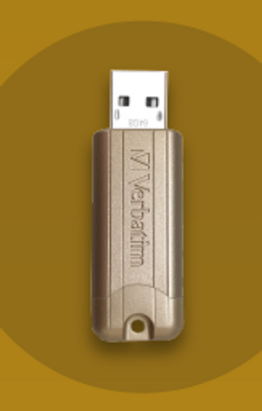 Verbatim 64Gb Gold Pin Stripe USB Limited Edition
