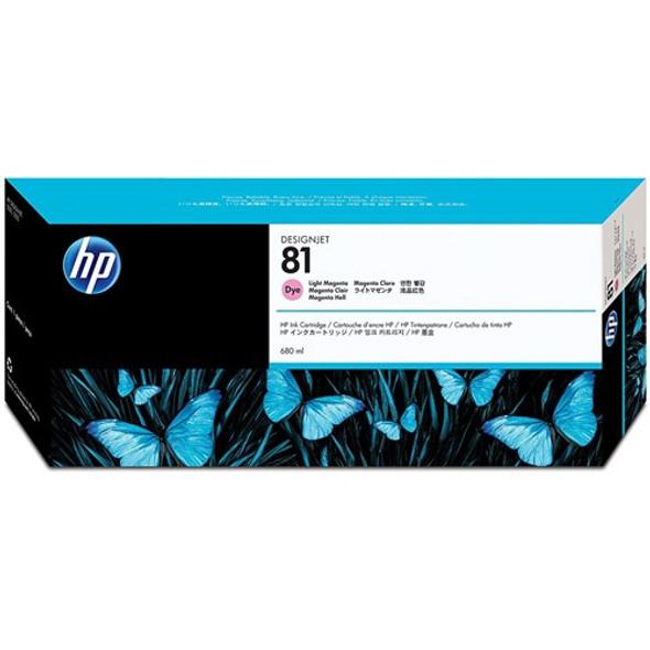HP 81 680-ML LIGHT MAGENTA DYE INK FOR DJ 5500, 5000