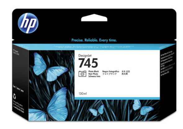 HP 745 130-ML PHOTO BLACK INK