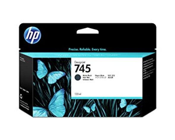 HP 745 130-ML MATTE BLACK INK