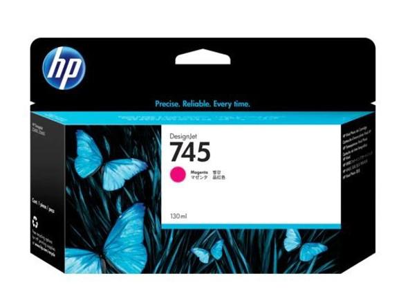 HP 745 130-ML MAGENTA INK CART