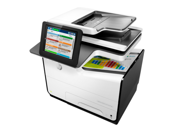 PageWide Enterprise 586dn Multifunction,Color Print, copy, scan,Duplex,2048MB,1.2 GHz,USB,Up to 80,000 pages