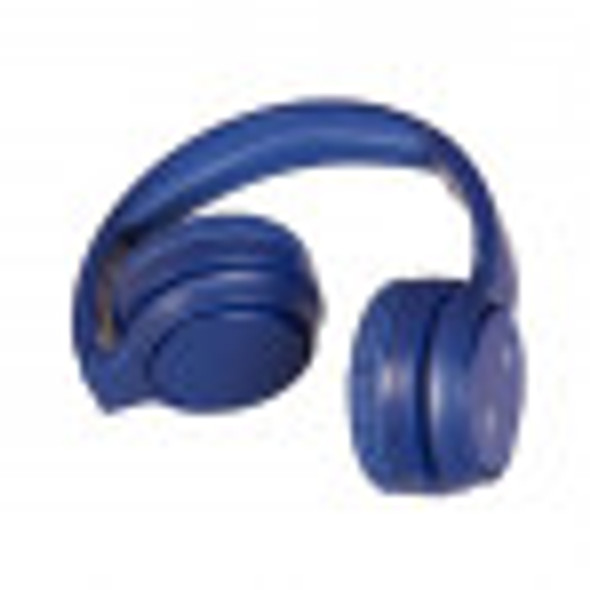 Bluetooth Headphone On-Ear with Hands-Free Navy Blue - MOQ 4