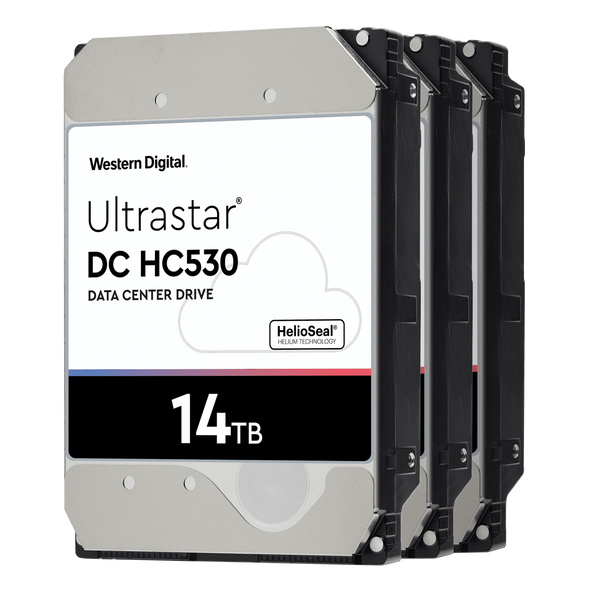 WD Ultrastar 14000 GB Intern 3.5 inch HDD harddisk;7200 omdr/min;Buffer storrelse (cache) 512 MB