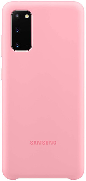 S20 Ultra Silicone Cover - Pink