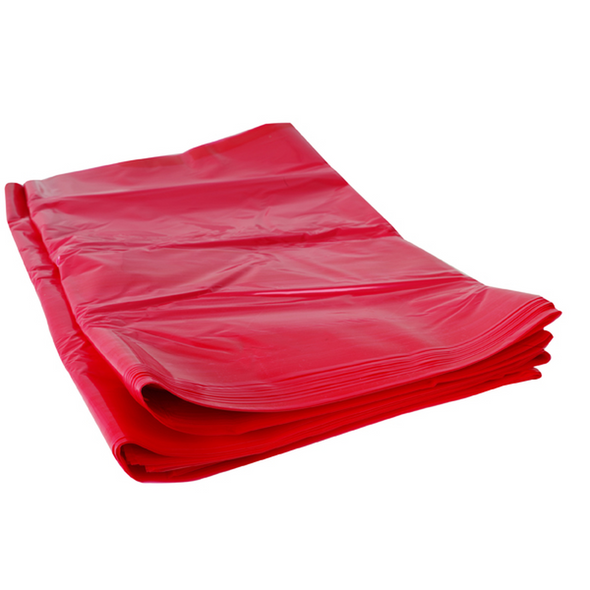 IDEAL SHREDDER BAG PLASTIC RED