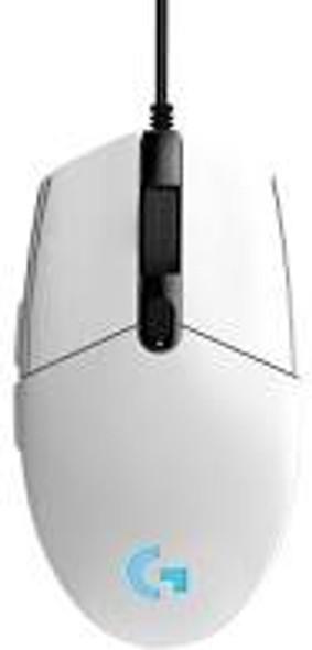 Logitech G203 LIGHTSYNC Gaming Mouse - WH