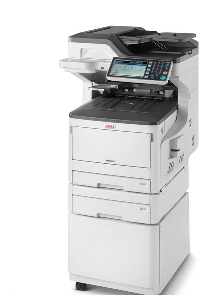 MC873DNCT COLOUR A3 35PPM NET DUP 400SHT 4IN1 MFPONE TRAY 535SHT  CABINET