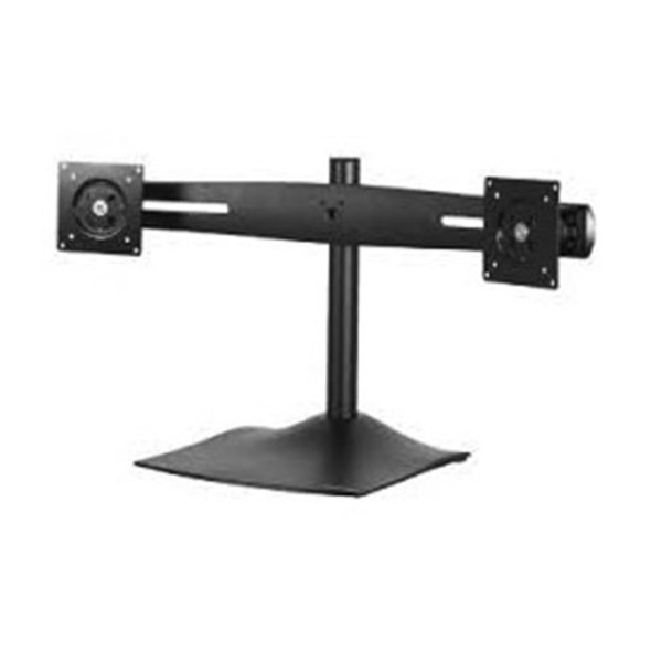 "UP TO 24"" DUAL MONITOR DESKTOP STAND MOUNT 14KG MAX PER LCD, 100X100 VESA"