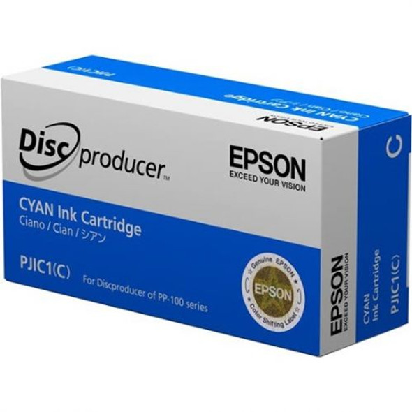 EPSON C13S020447 PJIC1 CYAN INK CARTRIDGE