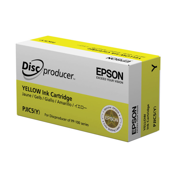 EPSON C13S020451 PJIC5 YELLOW INK CARTRIDGE