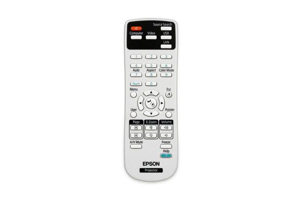 EPSON REMOTE CONTROL FOR EB-470 475W 475WI 475WIE 480 485W 485WE 485WI W12 X14 1850W 435W