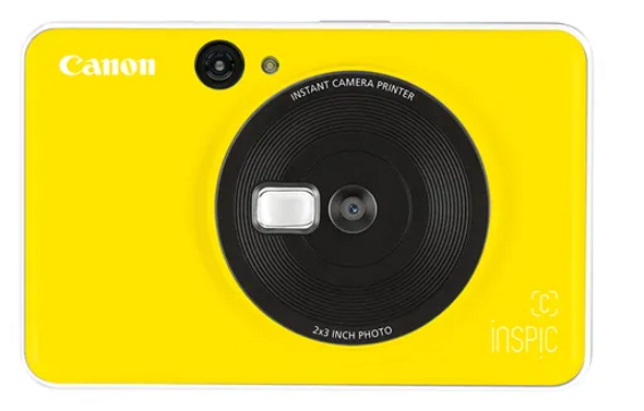 CYELLOW INSPIC C INSTANT CAMERA - YELLOW