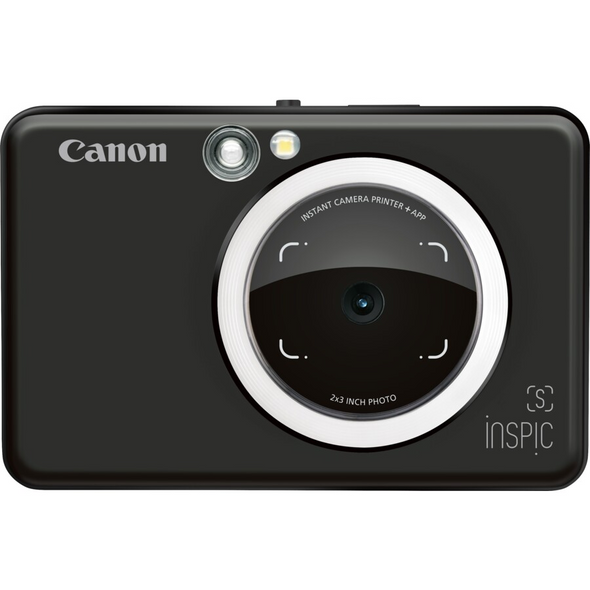 SBLACK INSPIC S INSTANT CAMERA WITH SMARTPHONE CONNECTIVITY - BLACK