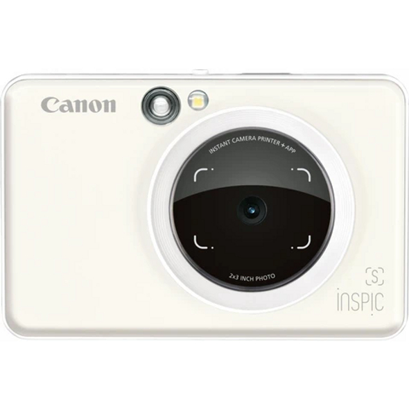 SWHITE INSPIC S INSTANT CAMERA WITH SMARTPHONE CONNECTIVITY - WHITE