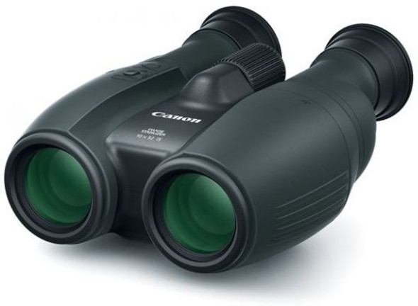CANON 10X32IS BINOCULARS POCKET ROCKET 12X MAG PWRD IS SOFTCASE STRAP LENS CAP
