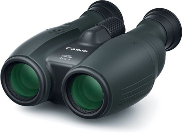 CANON 12X32IS BINOCULARS HIGH QLTY 12X MAG PWRD IS SOFTCASE STRAP LENS CAP