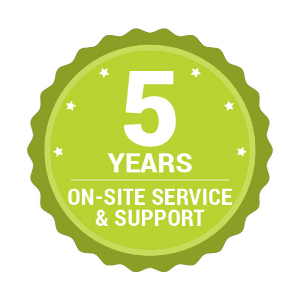 MFP-5YR-OSS 5 YEAR ON-SITE SUPPORT AND SERVICE PACK FOR - TM MFP