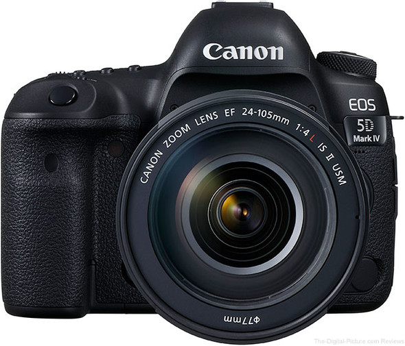 CANON 5DIVPK EOS 5D MARK IV WITH EF24-105LISII