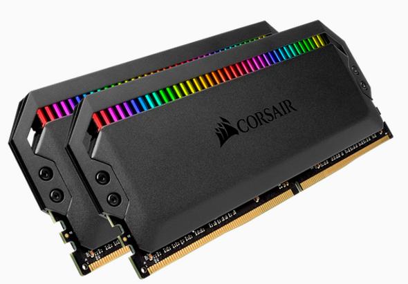 CORSAIR VENGEANCE RGB PRO DDR4, 3600MHz 16GB 2x8GB DIMM, Unbuffered, 20-23-23-43, XMP 2.0, Heatspreader, RGB LED, 1.35V