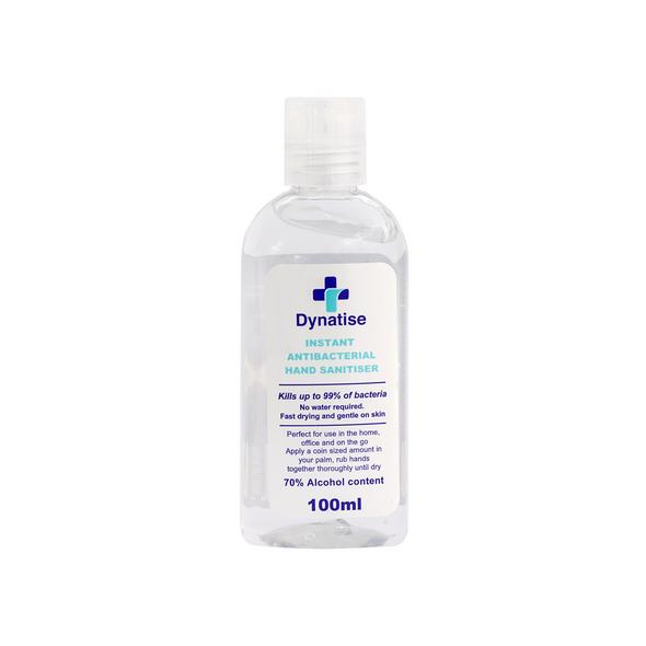 Dynatise Hand Sanitiser Gel - 100ml Bottle