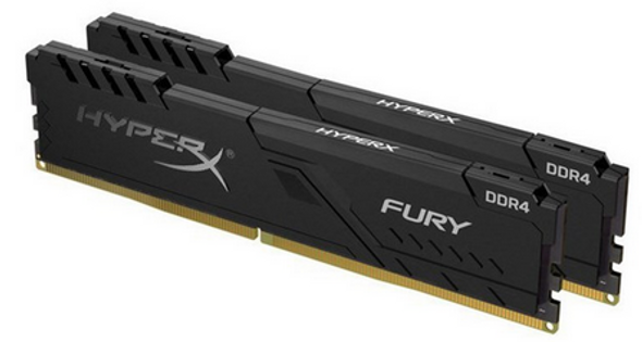 32GB 3600MHz DDR4 CL17 DIMM (Kit of 2) HyperX FURY Black