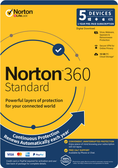 Norton 360 Standard 5 Devices